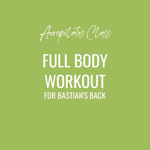 Aeropilates Class – Full Body Workout For Bastian's Back