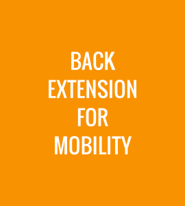 Back Extension for Mobility