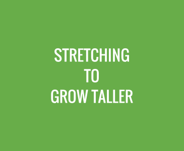Stretching to Grow Taller